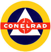 CONELRAD: CONtrol of ELectromagnetic RADiation. Something I should have known to do...