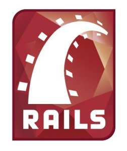 The logo of Ruby on Rails (source: Wikimedia Commons)