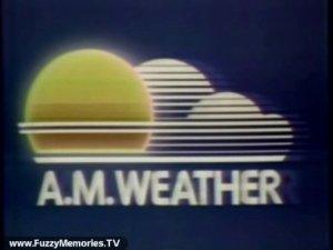 A. M. Weather logo