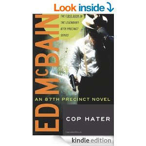 The cover from Cop Hater, the first 87th Precinct novel (Source:Amazon.com)