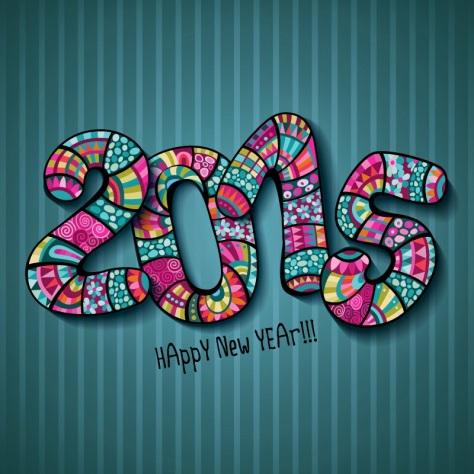 Happy New Year2015 Sairary happy-new-year-2015-pattern-background ...