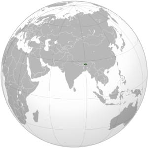 Bhutan_(orthographic_projection).svg