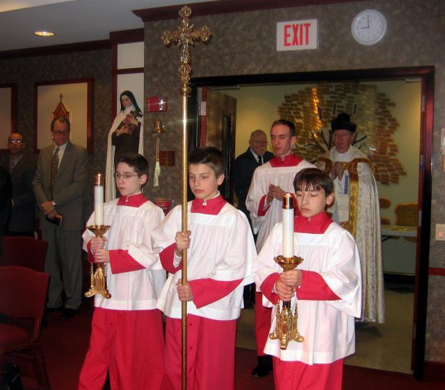 Altar Server Ringing Bells