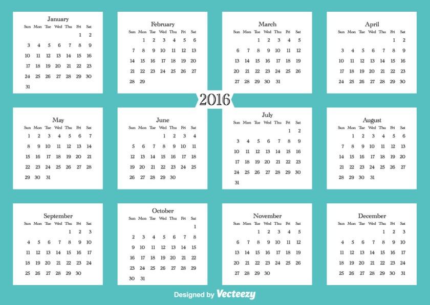 DD 2016 Calendar 54091 Preview